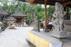 Ινδός ναός Empul Tirta στο Μπαλί στην Ινδονησία Στοκ φωτογραφία με δικαίωμα ελεύθερης χρήσης