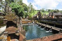 Ινδός ναός Empul Tirta στο Μπαλί στην Ινδονησία Στοκ εικόνα με δικαίωμα ελεύθερης χρήσης