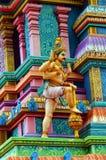 Ινδός ναός Lankan Sri Στοκ φωτογραφία με δικαίωμα ελεύθερης χρήσης