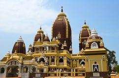 Ινδός ναός Mandir Birla, Νέο Δελχί, ταξίδι στην Ινδία Στοκ Φωτογραφία