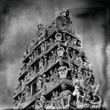 Ινδός ναός Mariamman Sri στη Σιγκαπούρη Στοκ Φωτογραφία