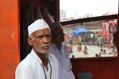 ινδός προσκυνητής Στοκ εικόνες με δικαίωμα ελεύθερης χρήσης