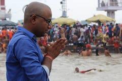 ινδός προσκυνητής Στοκ φωτογραφίες με δικαίωμα ελεύθερης χρήσης
