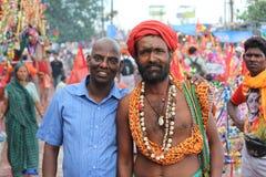 ινδός προσκυνητής Στοκ Φωτογραφίες
