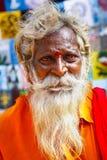 ινδό πορτρέτο μοναχών Στοκ εικόνες με δικαίωμα ελεύθερης χρήσης