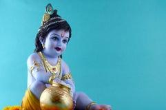 ινδό krishna Θεών στοκ φωτογραφία με δικαίωμα ελεύθερης χρήσης