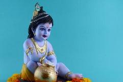 ινδό krishna Θεών στοκ φωτογραφία