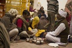 Ινδό Puja στοκ εικόνες