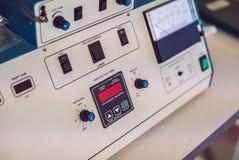 Ιονικό σύστημα χαρακτικής για τη στερεά προετοιμασία δειγμάτων για το ηλεκτρόνιο mi στοκ φωτογραφία με δικαίωμα ελεύθερης χρήσης
