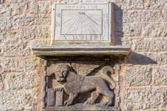 λιοντάρι Βενετός φτερωτό&sigm Στοκ Εικόνα