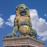 λιοντάρι ζοφερό Στοκ φωτογραφία με δικαίωμα ελεύθερης χρήσης