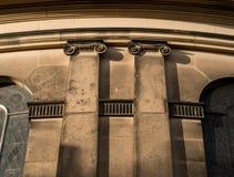 Ιοντικά κεφάλαια Στοκ φωτογραφία με δικαίωμα ελεύθερης χρήσης