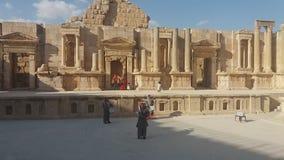 Ιορδανία bagpipes απόθεμα βίντεο