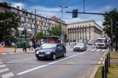 10 Ιουλίου 2017 - Κρακοβία, Πολωνία - παλαιό κέντρο πόλεων, αγορά Squa της Κρακοβίας Στοκ εικόνα με δικαίωμα ελεύθερης χρήσης