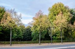 17 Ιουνίου οδός στο Βερολίνο Στοκ εικόνα με δικαίωμα ελεύθερης χρήσης