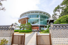 21 Ιουνίου 2017 το APEC Nurimaru βρίσκεται σε DongbaekseomIsland Στοκ Εικόνες