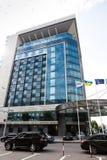 12 Ιουνίου 2015 Kharkiv, Ουκρανία Ένα πέντε αστέρων πολυτέλειας ξενοδοχείο παλατιών Kharkiv αρχαιότερο Στοκ εικόνα με δικαίωμα ελεύθερης χρήσης