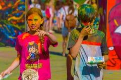 19 Ιουνίου 2016, orekhovo-Zuevo, περιοχή της Μόσχας, της Ρωσίας Το festiv στοκ εικόνες