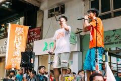 1 Ιουλίου διαμαρτυρία στο Χονγκ Κονγκ Στοκ φωτογραφία με δικαίωμα ελεύθερης χρήσης