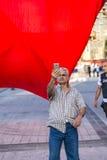 15 Ιουλίου διαμαρτυρίες προσπάθειας χτυπήματος στη Ιστανμπούλ Στοκ φωτογραφία με δικαίωμα ελεύθερης χρήσης