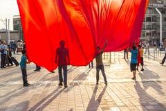 15 Ιουλίου διαμαρτυρίες προσπάθειας χτυπήματος στη Ιστανμπούλ Στοκ Εικόνες