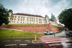 10 Ιουλίου 2017, Κρακοβία - το κάστρο Wawel στην ημέρα, λόφος Wawel με Στοκ Εικόνες
