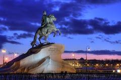 ιππέας χαλκού Στοκ φωτογραφίες με δικαίωμα ελεύθερης χρήσης