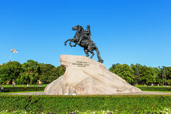 ιππέας χαλκού Πετρούπολη Άγιος Στοκ Εικόνες