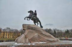 ιππέας χαλκού Στοκ Φωτογραφίες