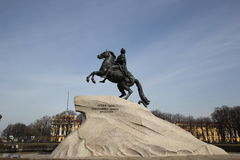 ιππέας χαλκού Στοκ φωτογραφία με δικαίωμα ελεύθερης χρήσης
