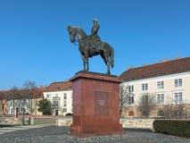 Ιππικό άγαλμα του Artur Gorgey στη Βουδαπέστη, Ουγγαρία Στοκ εικόνες με δικαίωμα ελεύθερης χρήσης
