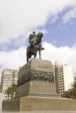 Ιππικό άγαλμα του στρατηγού Artigas στο Μοντεβίδεο, Ουρουγουάη Στοκ Φωτογραφίες