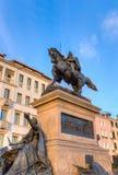 Ιππικό άγαλμα του Victor Emmanuel ΙΙ, Βενετία, Ιταλία Στοκ Φωτογραφία