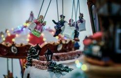 Ιπποδρόμιο Χριστουγέννων Στοκ εικόνες με δικαίωμα ελεύθερης χρήσης