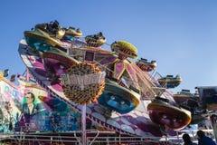 Ιπποδρόμιο Playball σε Oktoberfest στο Μόναχο, Γερμανία, 2015 Στοκ Φωτογραφία