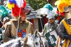 ιππότες μεσαιωνικοί Στοκ Φωτογραφία