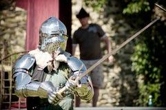 ιππότες πάλης Στοκ φωτογραφίες με δικαίωμα ελεύθερης χρήσης