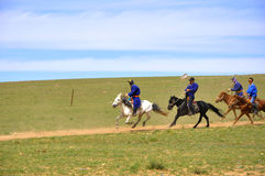 Ιππότες της Μογγολίας Στοκ Εικόνες
