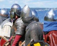 ιππότες Στοκ εικόνες με δικαίωμα ελεύθερης χρήσης