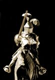 ιππότης αλόγων Στοκ φωτογραφία με δικαίωμα ελεύθερης χρήσης