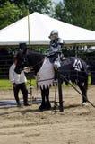 ιππότης αλόγων μεσαιωνικό&si Στοκ εικόνες με δικαίωμα ελεύθερης χρήσης