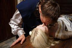 Ιππότης και η ομορφιά ύπνου του Στοκ εικόνα με δικαίωμα ελεύθερης χρήσης