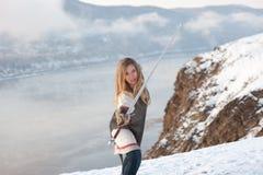 Ιππότης κοριτσιών Στοκ εικόνα με δικαίωμα ελεύθερης χρήσης