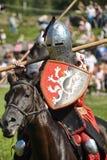 Ιππότης στα πρωταθλήματα αλόγων Στοκ Εικόνες