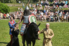 Ιππότης στα πρωταθλήματα αλόγων Στοκ εικόνα με δικαίωμα ελεύθερης χρήσης