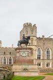 Ιππότης στο άγαλμα αλόγων Στοκ εικόνες με δικαίωμα ελεύθερης χρήσης