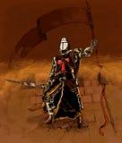 Ιππότης Cruzader Στοκ Εικόνα