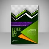 Ιπτάμενο, κάλυψη περιοδικών, φυλλάδιο, σχέδιο προτύπων για την επιχείρηση ed Στοκ Φωτογραφίες