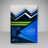 Ιπτάμενο, κάλυψη περιοδικών, φυλλάδιο, σχέδιο προτύπων για την επιχείρηση ed Στοκ εικόνα με δικαίωμα ελεύθερης χρήσης
