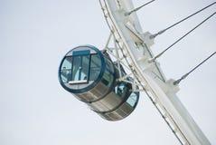 Ιπτάμενο Σινγκαπούρης - γόνδολα Στοκ Εικόνες
